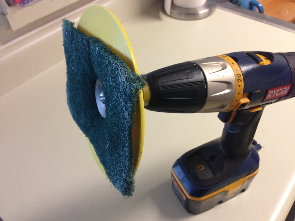 power drill life hack easy shower cleaning plumbersstock blog