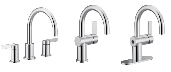 all 3 moen cia lavatory faucets in chrrome